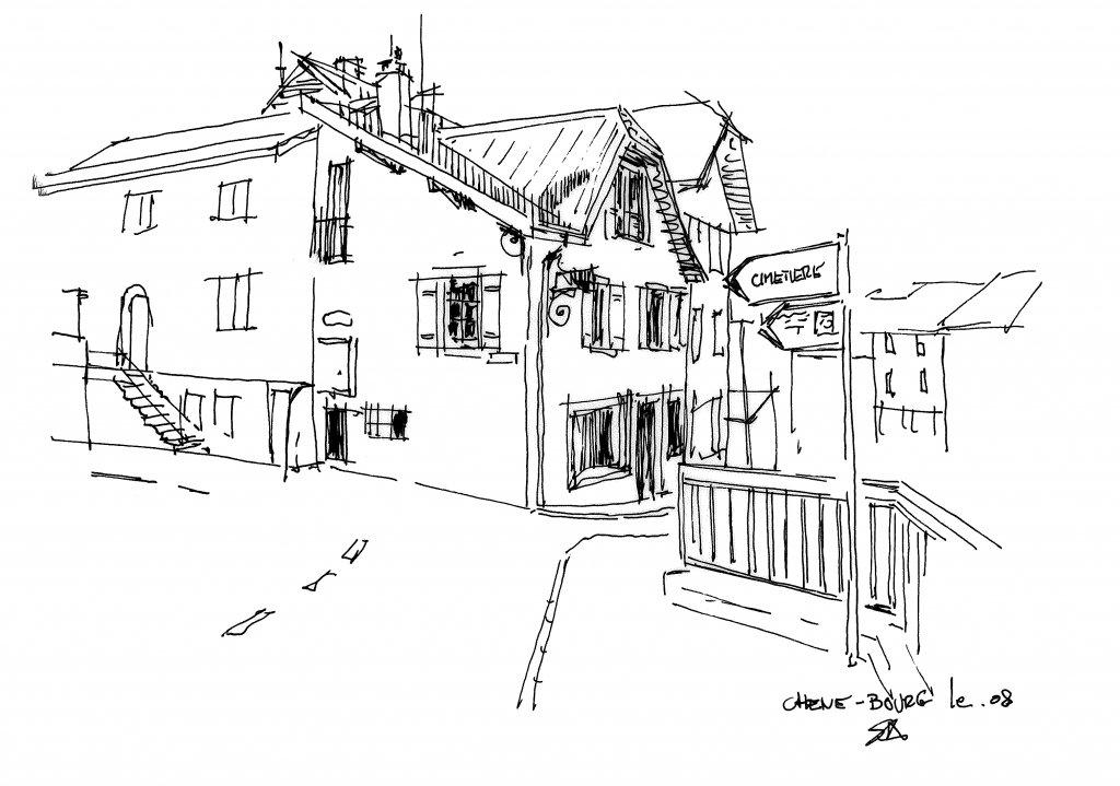 maison familliale  chêne-bourg